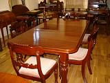 Victorian Table with William IV Chairs